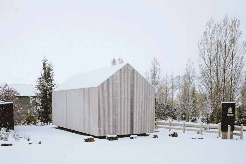 Abodos Cardrona Cabin the chapel to craft wins NZIA Small Projects Architecture Award Abodo Wood 1
