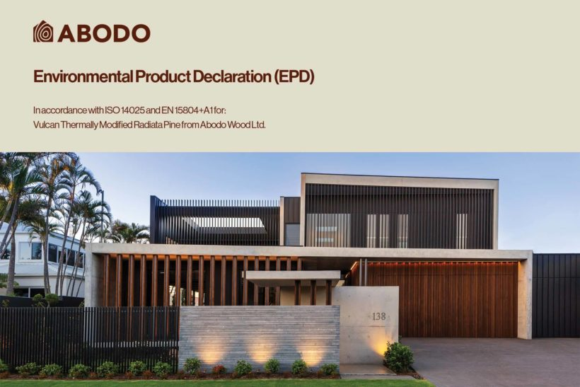 INTRODUCING New Zealands First Verified Carbon Negative Feature Timber Abodo Wood