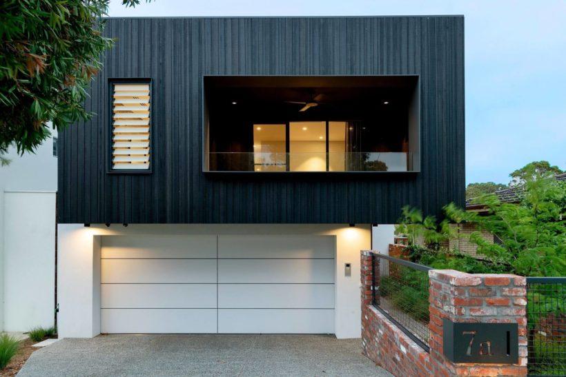 Black Box Luxury Home - Vulcan Cladding - Abodo Wood