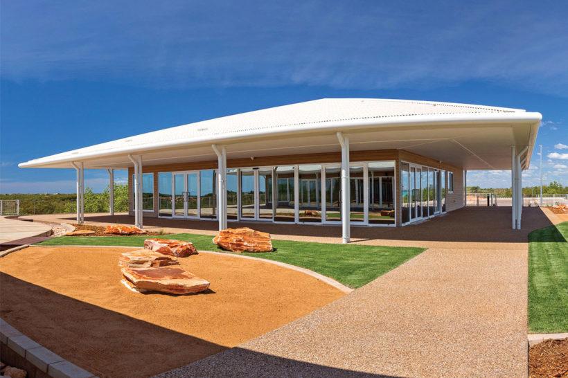 Broome Golf Club Vulcan Cladding Abodo Wood 4