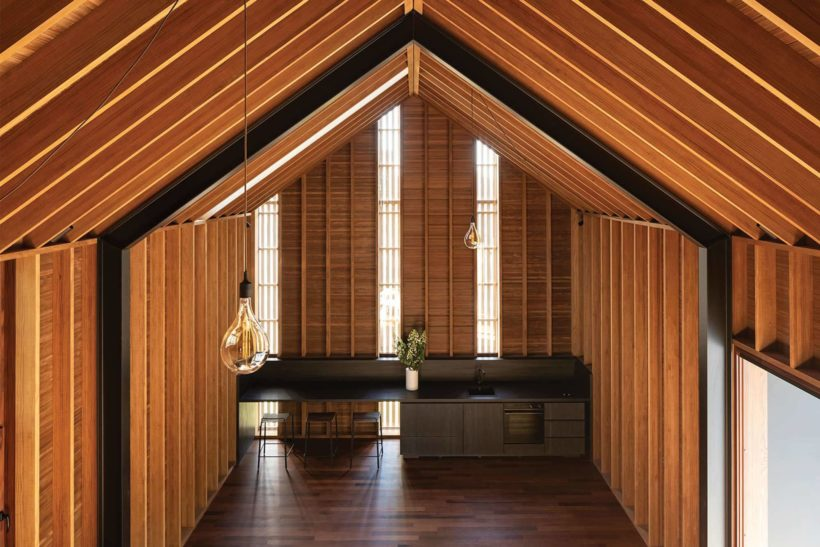 Cardrona Cabin - Vulcan Screening - Abodo Wood