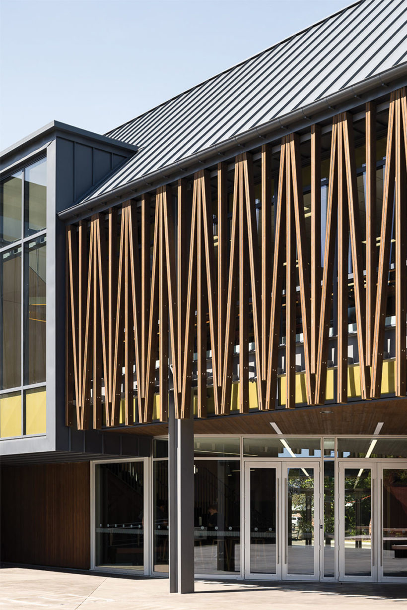Christchurch Boys High School Vulcan Timber Abodo Wood 3