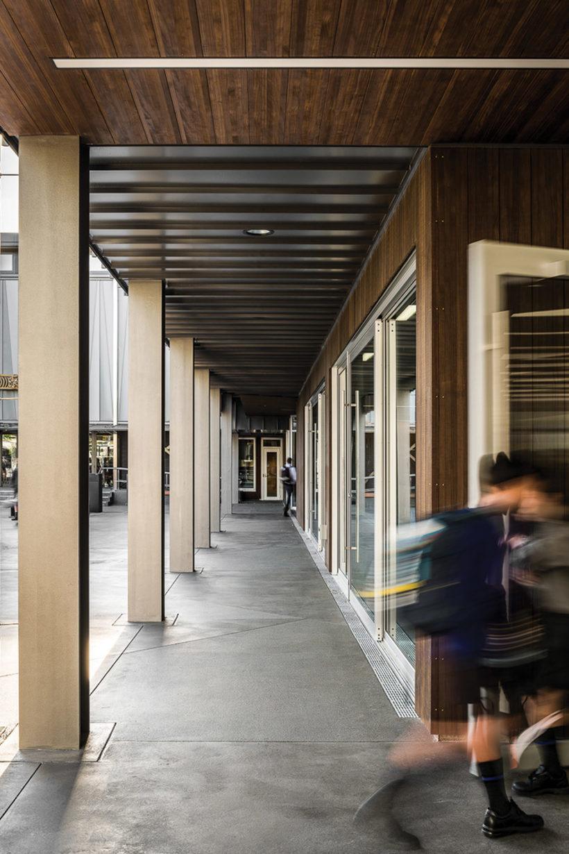 Christchurch Boys High School Vulcan Timber Abodo Wood 5