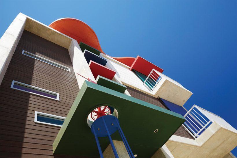 Cloud House - Vulcan Cladding - Abodo Wood