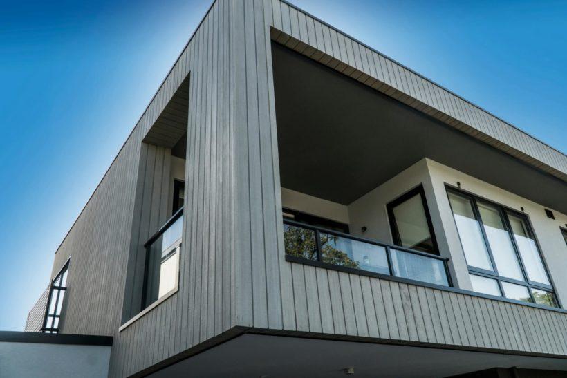 Faulkner St Apartments - Vulcan Cladding - Abodo Wood