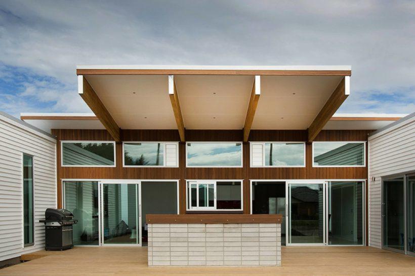 Mangawhai Home - Vulcan Cladding -  Abodo Wood