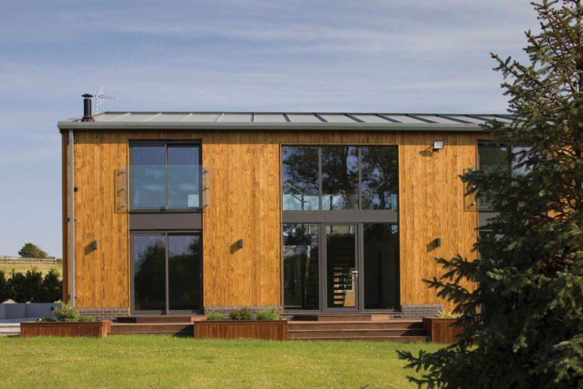 Riverside Barn Vulcan Cladding Abodo Wood 4