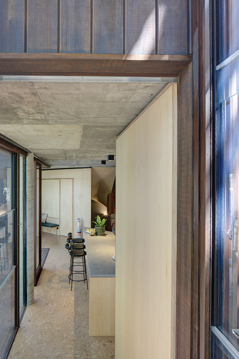 SRG House Vulcan Cladding and Vulcan Panelling Abodo Wood 6