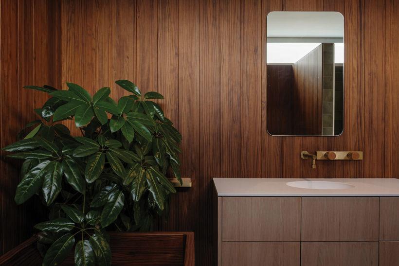 Shane Kingsbeers Gisborne home and studio Vulcan timber Abodo Wood 5