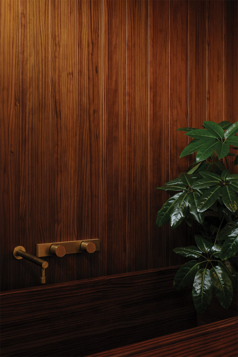 Shane Kingsbeers Gisborne home and studio Vulcan timber Abodo Wood 7