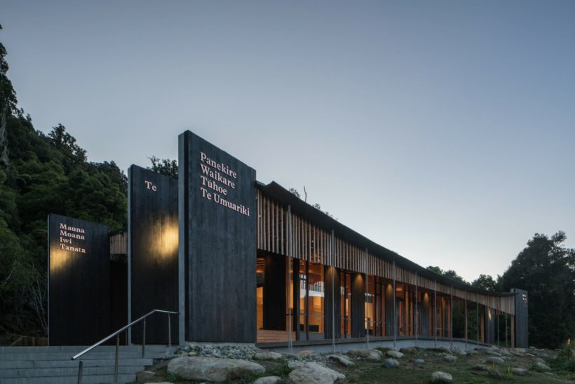 Tuhoe Living Building - Vulcan Cladding & Sand Decking - Abodo Wood