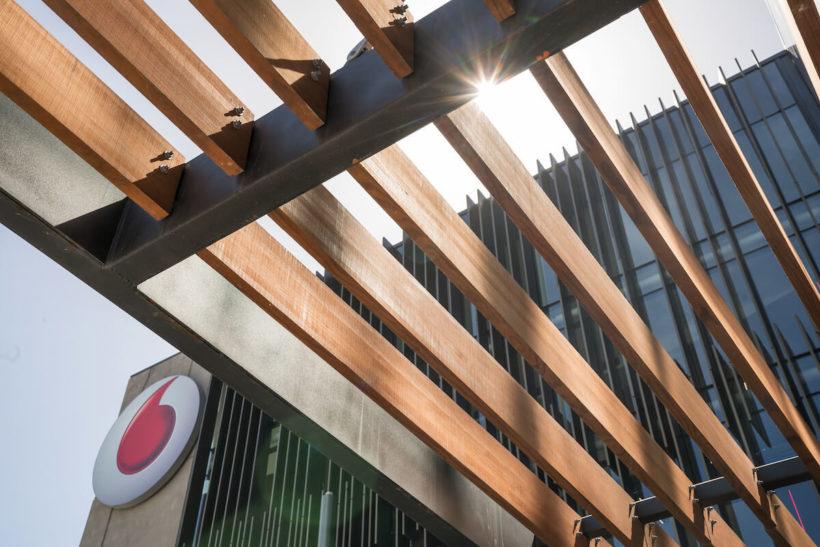 Vodafone Building - Vulcan Cladding & Screening - Abodo Wood
