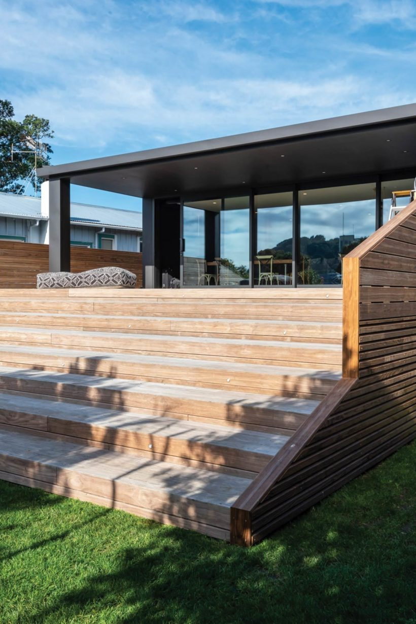 Waihi Beach House Vulcan Decking and Rhombus Clip Abodo Wood 3