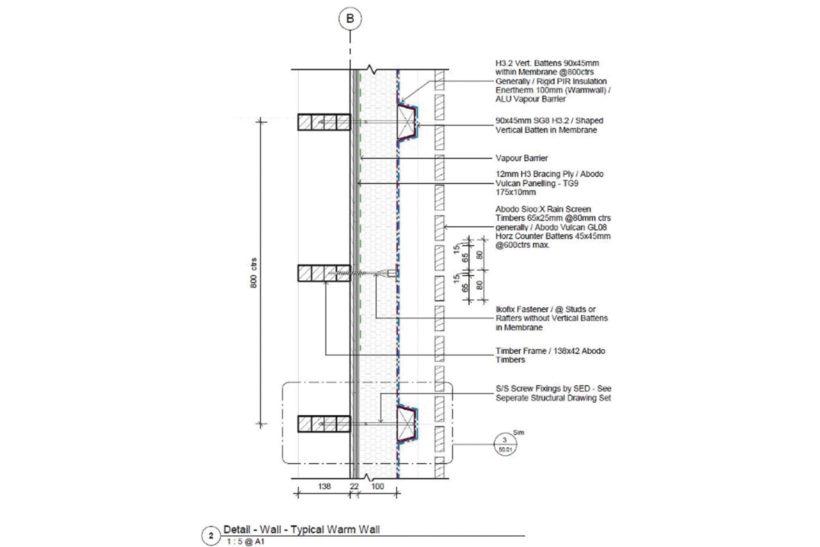 Rainscreen cladding systems Abodo Wood 4