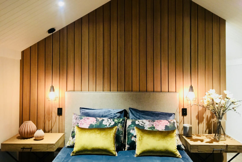 Feature Wall In Abodos Vulcan Cladding
